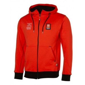 Sweat capuche renault trucks orange